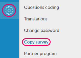 copy survey